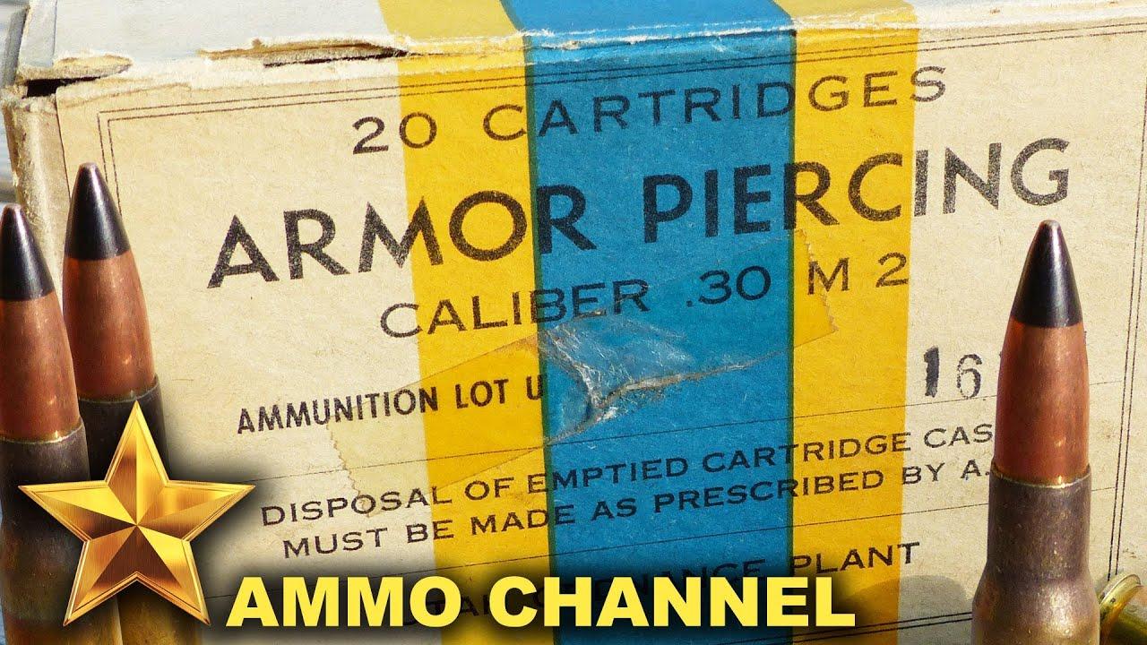 ammunition .30 ap penetration