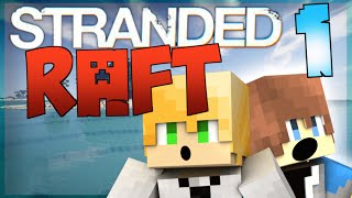 Stranded Raft | Minecraft Survival Island #1 (Stranded Deep in Minecraft)