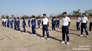Rajasthan police Pali demo ig inspection army martialarts demo