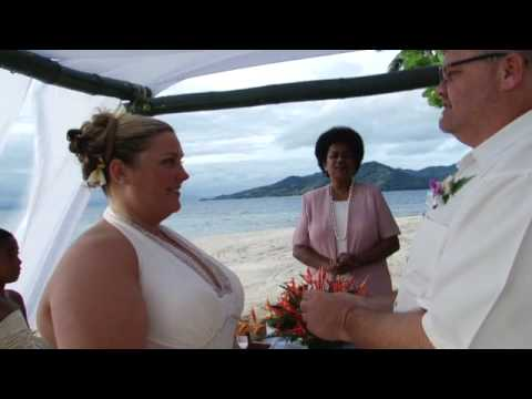 Ken & Rebecca's wedding on Royal Davui.wmv