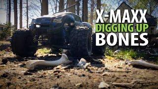 Traxxas X-maxx Bashing: Digging Up Bones In The Backyard