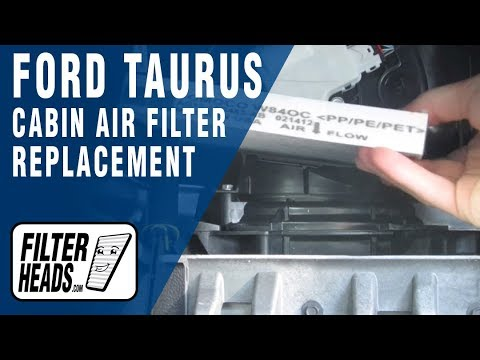 Replace cabin air filter 2002 ford taurus for 2002 ford explorer cabin air filter location