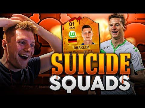 FIFA 16 - INSANE MOTM CAM DRAXLER SUICIDE SQUADS!!!