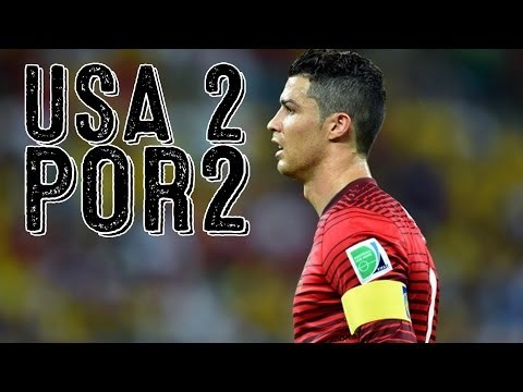 Ronaldo Breaks USA Hearts, Draws Match On Last Second Assist [USA vs. Portugal Recap]