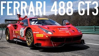 Ferrari 488 GT3 On the Track