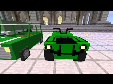 Minecraft Stan's vehicel pack 1.4.6