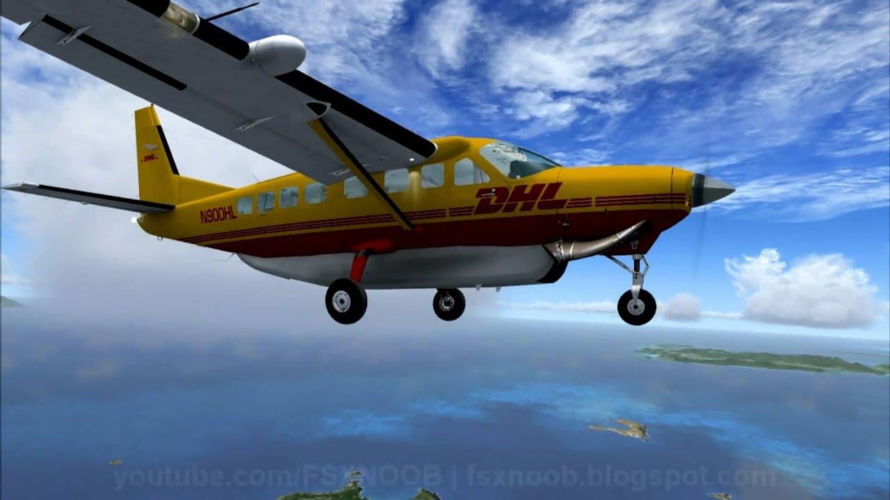 Carenado Cessna 208 Fsx hd Dhl Carenado c 208