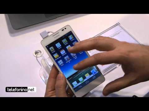 MWC2013 - Huawei Ascend D2: videopreview da Telefonino.net