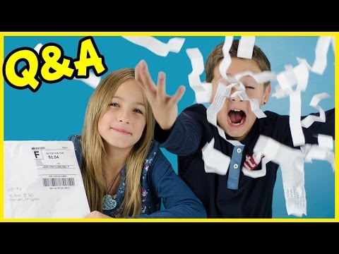 Q&A #1! QUESTIONS & ANSWERS CONTEST & WINNER + FAN MAIL + MORE!  PLP TV