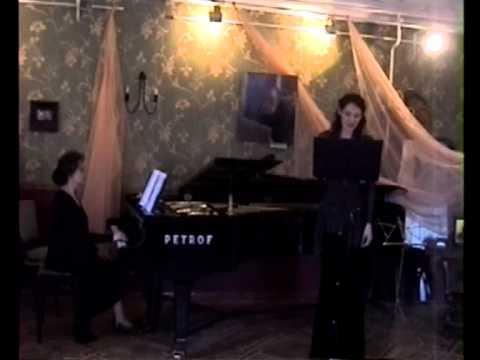 """М.Чистова вок.цикл  """"Четыре картины на стихи В.Брюсова"""" исп.Е.Золотова"""