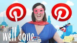 Mom Prepares a Pinterest-Worthy Superhero Kids' Birthday Party | Mom Vs. | Well Done