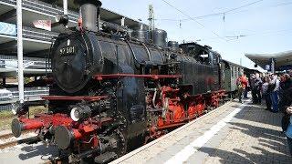 Dampflok 97501 Jubiläumsfahrt nach Münsingen 2018 GK