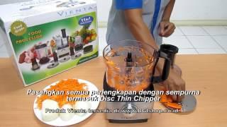 Vienta - Membuat Salad menggunakan Vienta Food Processor