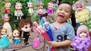 Trò Chơi Đi Săn Búp Bê Baby Doli Và Tiên Cá ❤ ChiChi ToysReview TV ❤ Đồ Chơi