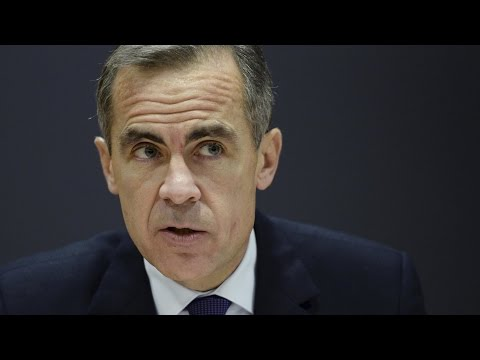 Mark Carney tries to reassure the markets – video
