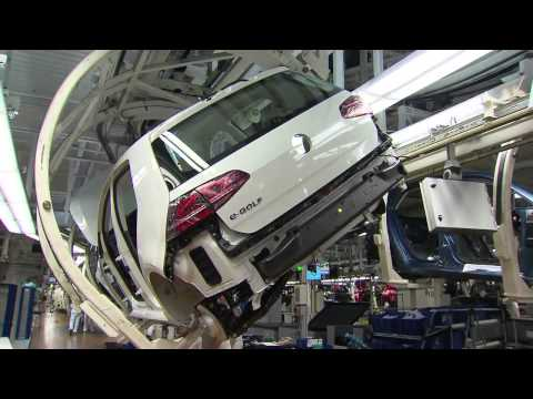 Volkswagen e Golf - Wolfsburg Fabrikası