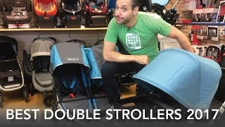 Best Double Strollers 2017 | Bugaboo Donkey | Vista | City Select Lux |  Duallie | Silvercross Wave