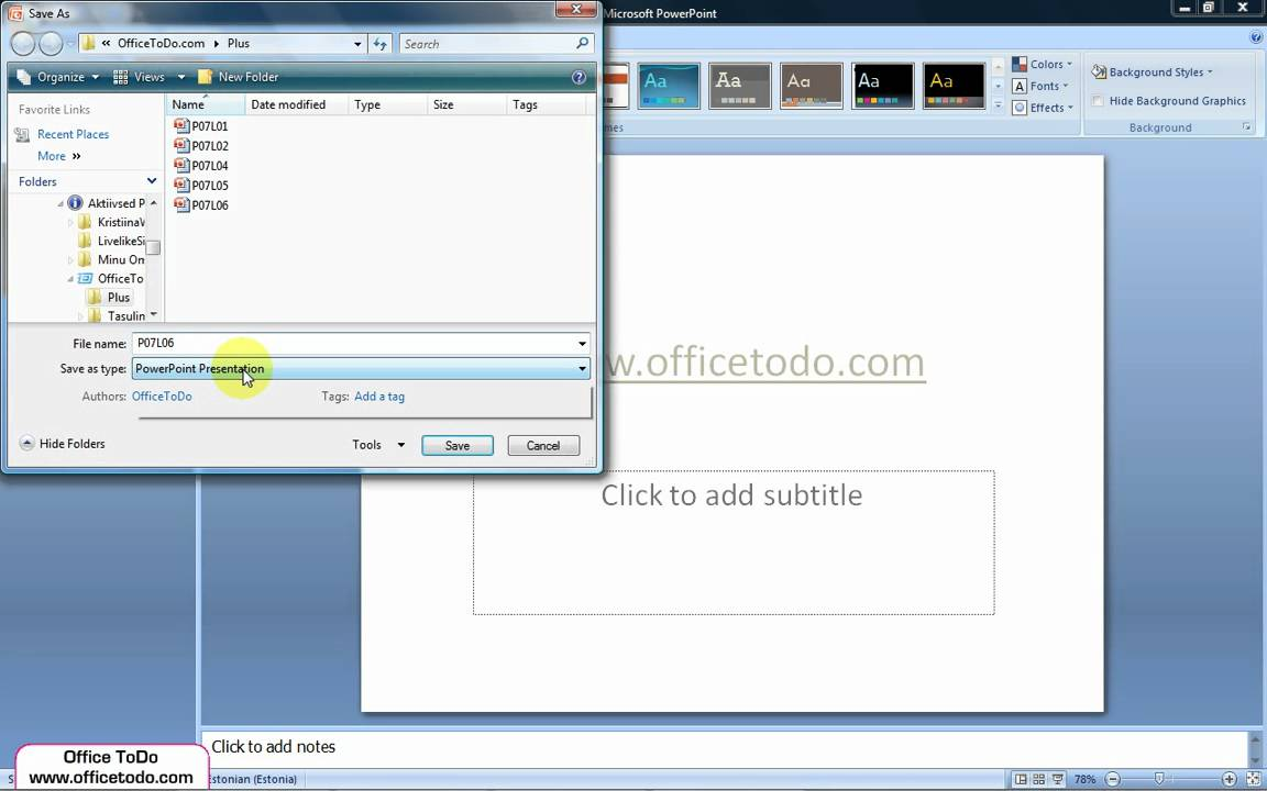 How to Set a Default Template in PowerPoint 2013  Echosvoice