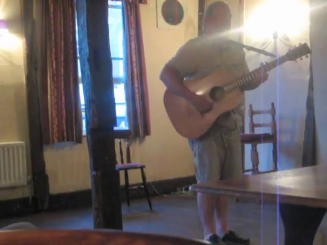 Sitting on the Bank - Original song revival by Andy Roberts at havering Folk Club