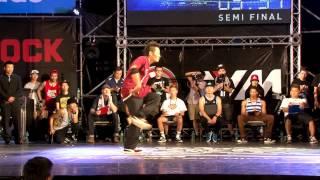 Bboy Crew Battle Semifinal-2 KGB TC UNITY vs OVER THE TOP | 2013 B.O.T.Y. TAIWAN