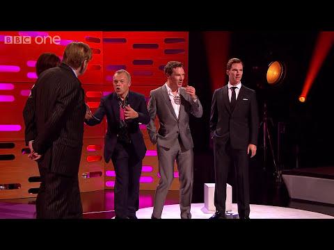 Benedict Cumberbatch photobombs his waxwork - The Graham Norton Show: Series 16 Episode 5 - BBC One
