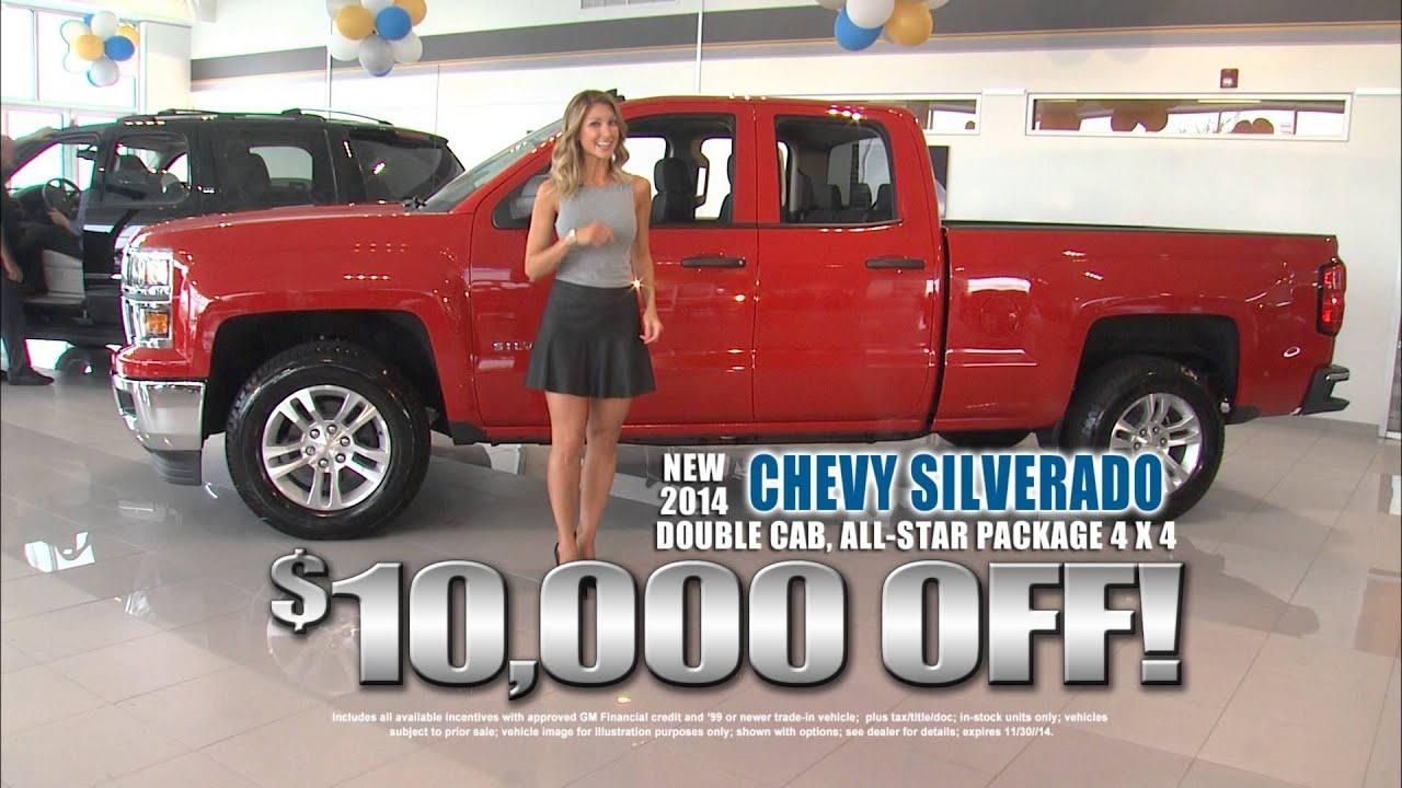 Andy Mohr Chevrolet TV Commercial - November 2014 - YouTube