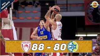 Olympiacos Piraeus - Maccabi FOX Tel Aviv |88 - 80| ● Full Highlights ● Round 4