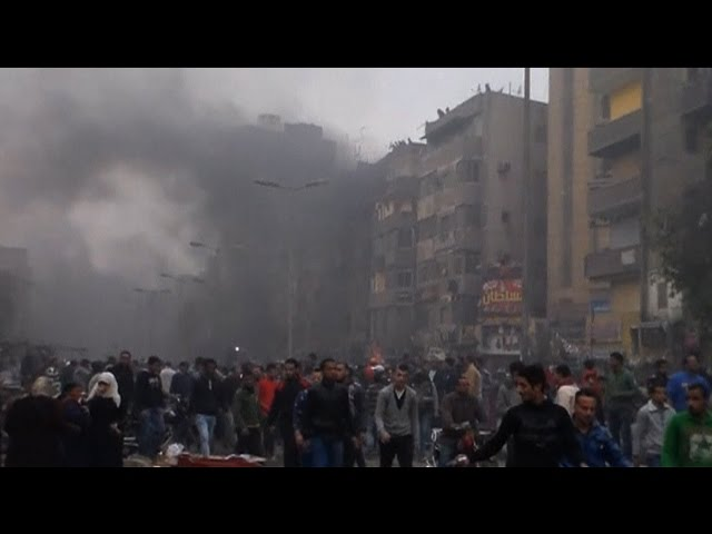 As 18 Die on Anniversary of Revolution, Egypt Intensifies Crackdown on Activists, Journalists