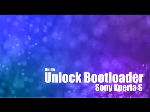 Xperia S: How to your Unlock Bootloader