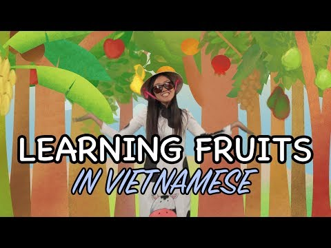 How To Say Fruits In Vietnamese