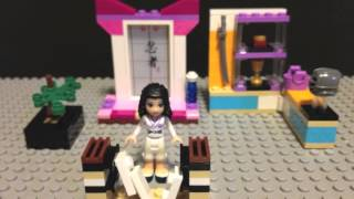 LEGO Friends - Emma Karate Class - Stop Motion