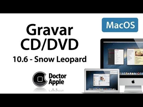 Aula Apple Mac - Gravar CD e DVD no Mac OSX