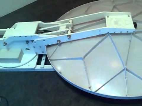 Automatic Deploy VSAT antenna Pure Mobility   YouTube