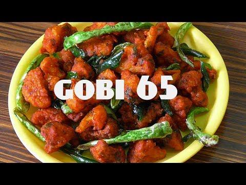 GOBI 65/crispy cauliflower fry// restaurant style gobi 65 recipe