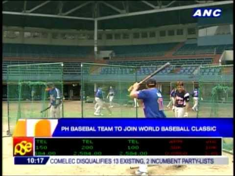 Fil-Ams proud to play for PH in World Baseball Classic