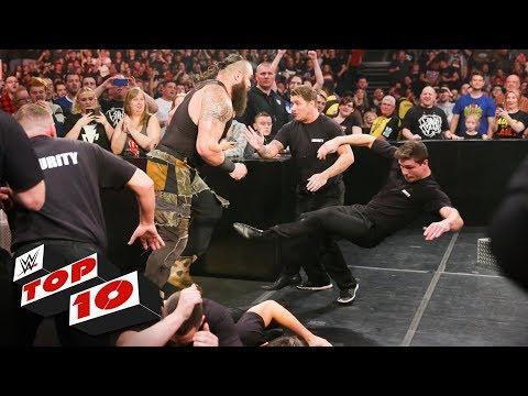 Top 10 Raw moments: WWE Top 10, November 5, 2018 thumbnail