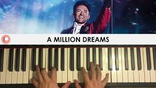 The Greatest Showman A Million Dreams Piano Patreon Dedication 273
