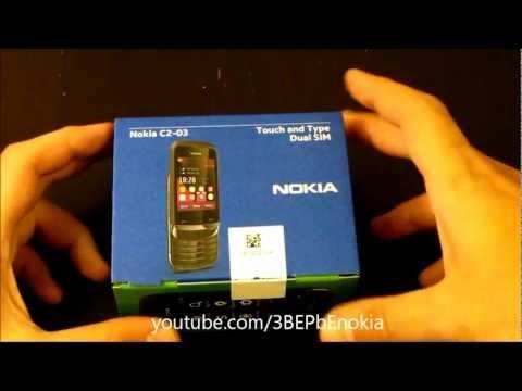 Nokia C2-03 Video clips