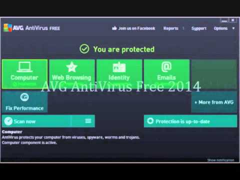 AVG AntiVirus 2014 Free download Version 2014.0.4259
