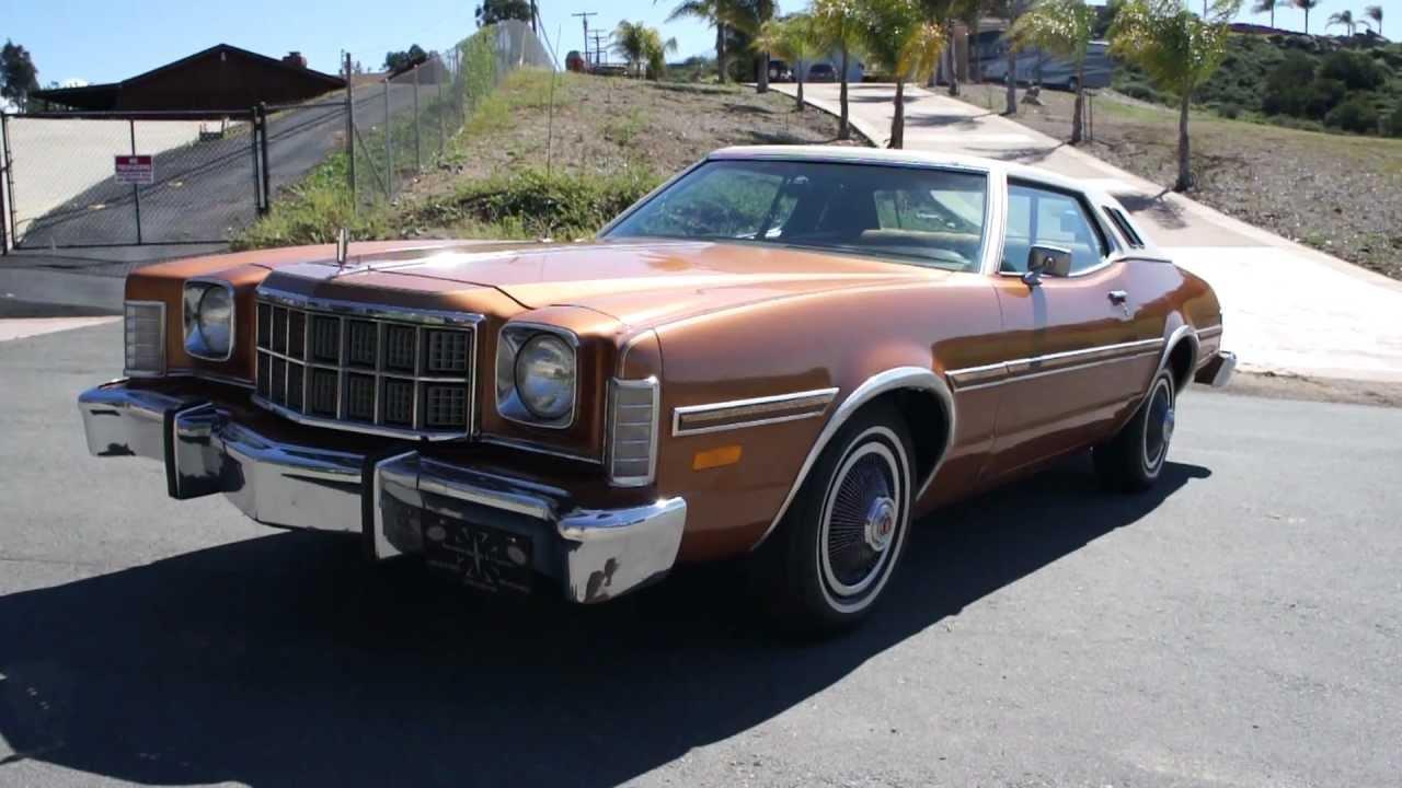 1976 Ford ELITE Torino Big LTD car Business Coupe 1 Owner ...
