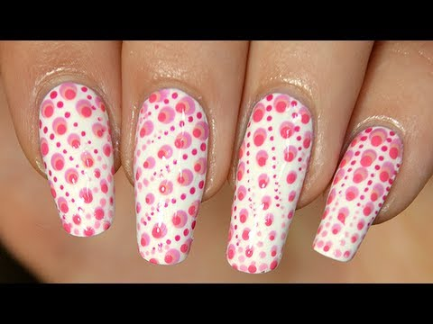 Nail art halftone color : tuto simple INRATABLE !