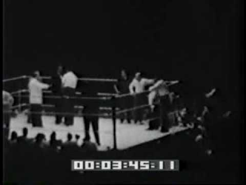 rocky graziano fights tony zale II 2 second fight boxing history shared Video