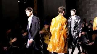DRIES VAN NOTEN Men fall/winter 2013-2014