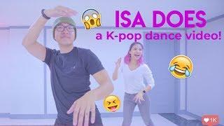 Dancing Boom boom by Momoland + shooting a K-pop music video
