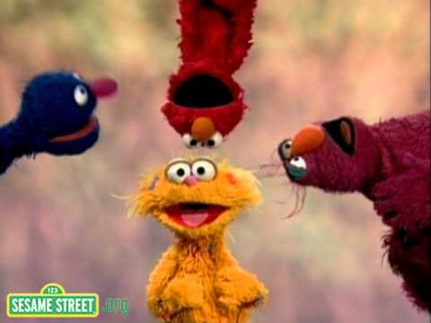 Sesame Street - Four Furry Friends