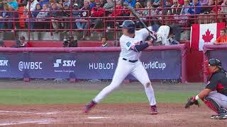 Highlights: Canada v USA - Super Round - WBSC U-18 Baseball World Cup 2017