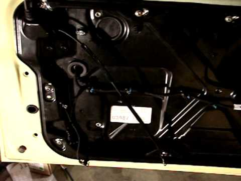 Volkswagen New Beetle window regulator repair - PART 2 of 2