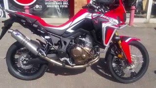 2016 Africa Twin Fitted With A Termignoni Exhaust For One Happy Customer
