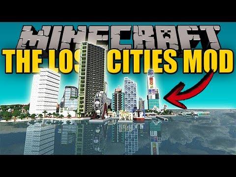 THE LOST CITIES MOD - Ciudades en todos los biomas! - Minecraft mod 1.11.2 Review ESPAÑOL