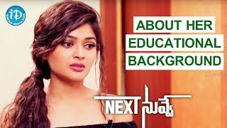 Vaibhavi Shandilya About Her Educational Background    Talking Movies    #NextNuvve